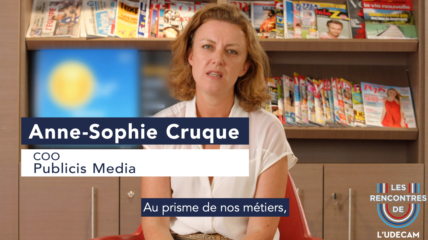 Interview : Anne-Sophie CRUQUE